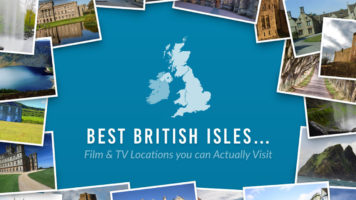 Travel Guide- Film and Television Locations in Britain You Can Actually Visit - Infographic