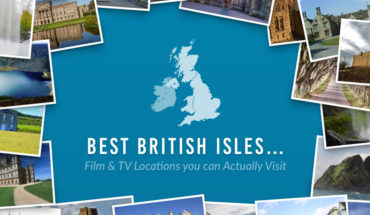Travel Guide: Film and Television Locations in Britain You Can Actually Visit - Infographic