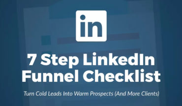 7-Step Funnel Method or How to Turn LinkedIn Into an Effective Sales Tool for Your Business - Infographic