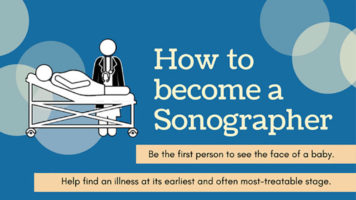 Career Options: How to Become a Sonographer - Infographic