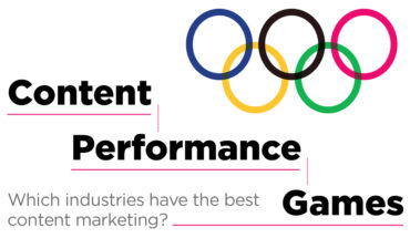 Go for the Gold:  Who are the Winners in the Content Marketing Games? - Infographic