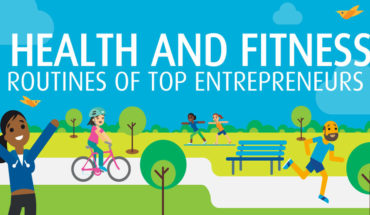 Health and Productivity: The Fitness Routine of Top Entrepreneurs - Infographic
