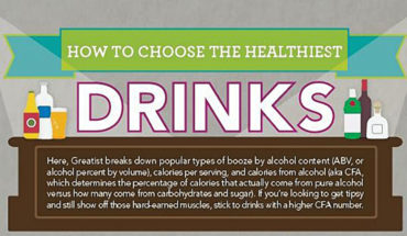 How Booze Can Be Healthy Too! - Infographic