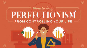 How to Control the Negative Aspects of Perfectionism - Infographic