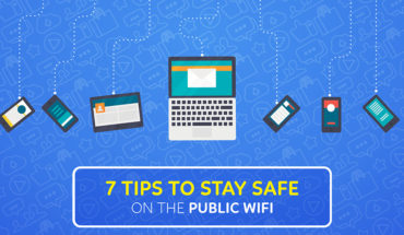 How to Protect Safety in Public Wi-Fi - Infographic