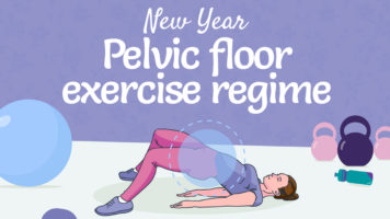 New Year Recovery Program: Pelvic Floor Exercises - Infographic