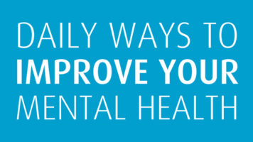 Positive Mental Health: 15 Daily Practices - Infographic