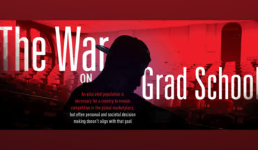 The Battle of Grad School Debt Woes - Infographic