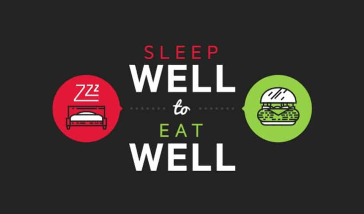 The Secret of Healthy Food Choices: Learn to Sleep Well - Infographic