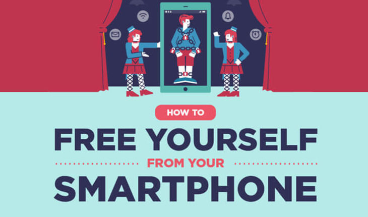 Unlock the Shackles: Free Yourself from Your Smartphone - Infographic
