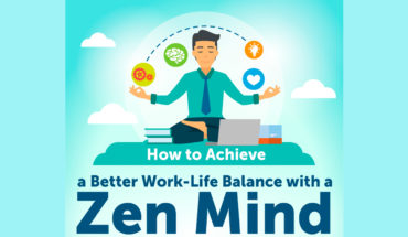 Build a Zen Mind: The Ways to Achieve Better Work-Life Balance - Infographic
