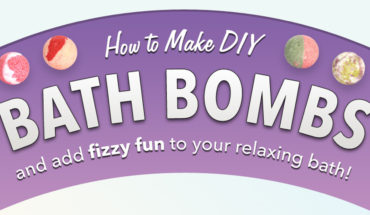 DIY: Natural Bath Bomb - Infographic