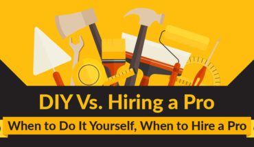 DIY Vs Hiring Professionals: How to Decide - Infographic