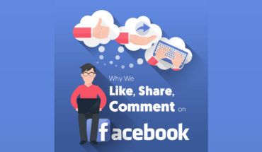 Decipher the Facebook Language of Like, Share and Comment - Infographic