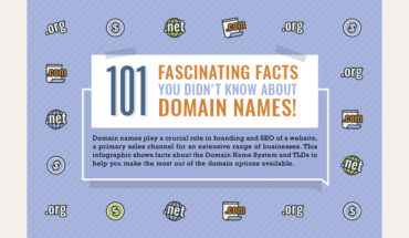 Everything You Wanted to Know About Domain Names: 101 Need-to-Know Facts - Infographic