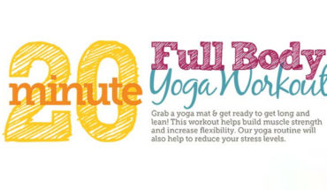 How to Have a 20-minute Full Body Workout Using Yoga Poses - Infographic