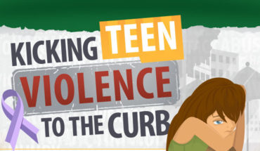 How to Knock Out Teen Violence - Infographic