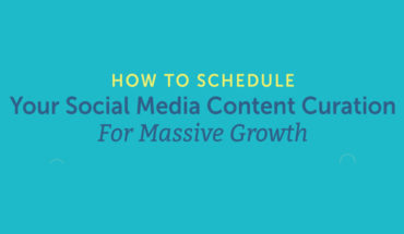 How to Schedule Curated Social Media Content for Enhanced Customer Experience - Infographic