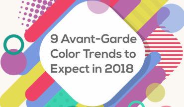 Plan Your Brands' Color Palette: Color Trends 2018 - Infographic