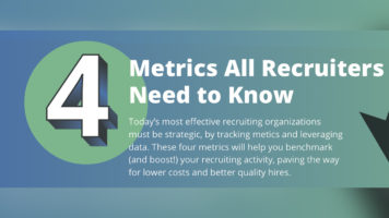 The 4 Metrics Way to Strengthen Recruitment Strategy - Infographic