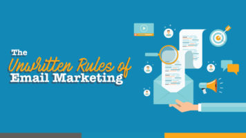 The Secret of Successful Email Marketing: 15 Unwritten Rules - Infographic