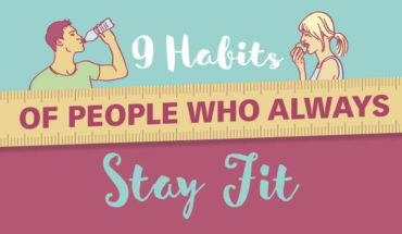 These are the Habits that Keep People Fit - Infographic