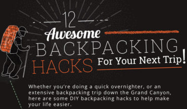 Heading Out into the Wild? 12 Awesome Backpacking Hacks - Infographic