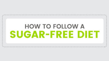 How to Successfully Follow a Sugar-Free Diet - Infographic