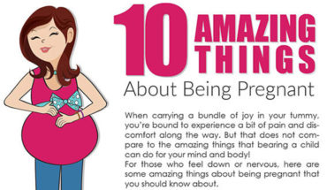 Joys of Pregnancy: 10 Everyday Advantages - Infographic