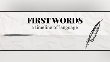 The Fascinating Timeline of When Language was Discovered - Infographic