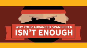 The Threat of Data-Breaches: Advance Spam Filters Aren't Enough - Infographic