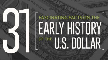 The U.S. Dollar Through the Ages: 31 Fascinating Historical Facts - Infographic