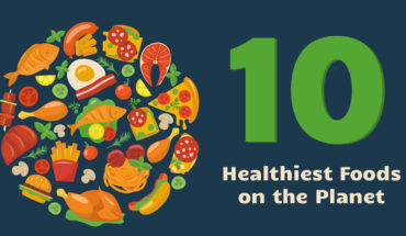 Top 10 Healthiest Super Foods on the Planet - Infographic