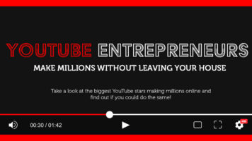 YouTube's Entrepreneur Success Stories - Infographic
