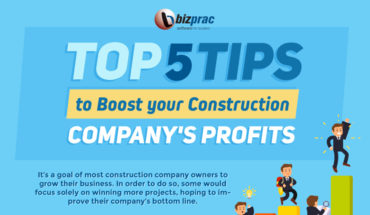 5 Successful Strategies to Boost Your Construction Company's Profits - Infographic