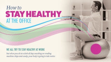 Beat the Environment: The Office Stay-Healthy Routine - Infographic