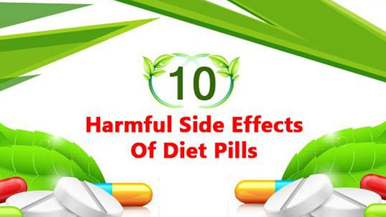 Diet Pills All You Ll Lose Is Your Good Health Infographic