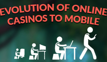 Evolution of Casinos: The Transformation to Mobile Gambling - Infographic