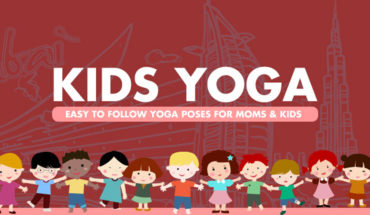Family Yoga Time: Postures for Mom and Kids to Practice Together - Infographic