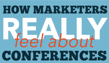 Marketing Conferences: What the Professionals Have to Say - Infographic