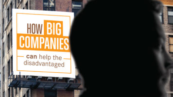 The Role of Big Companies in Social Change - Infographic