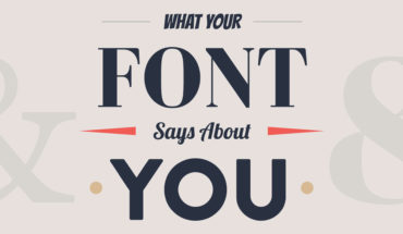 What's Your Font? How Fonts Are Linked to Personality Types - Infographic