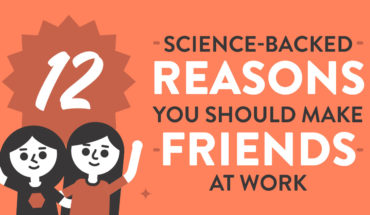 Why It's Important to Make Friends at Work: 12 Science-Backed Reasons - Infographic