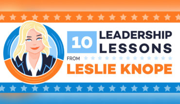 Why Waffles and Friends Are More Important than Work: 10 Inspiring Leadership Lessons from Leslie Knope - Infographic
