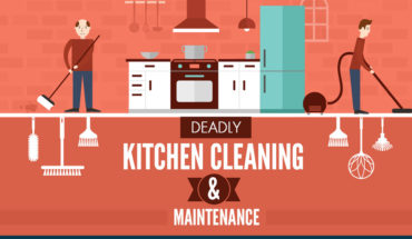 Cleaning Commercial Kitchen: Crucial Safety Tips - Infographic