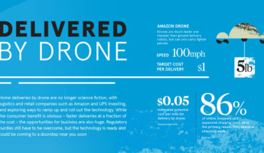 Home Deliveries by Drone: Future Next? - Infographic