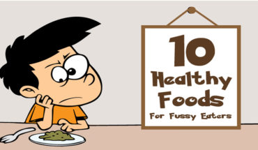 How to Change Fussy Eaters to Healthy Eaters - Infographic