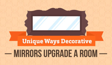 How to Use Mirrors as Artwork in Your Home - Infographic