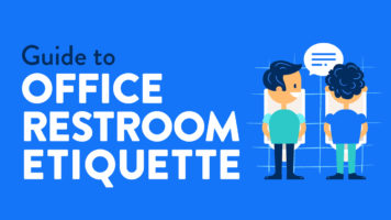 Mind Your Toilet Manners: Restroom Etiquette - Infographic