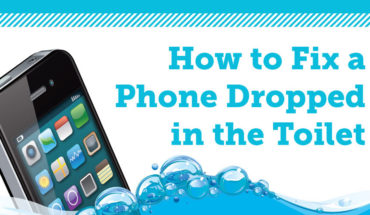 Phone Dropped in the Toilet? No Problem! - Infographic